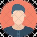 Client Customer Service Boy Icon