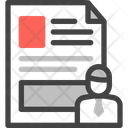 Client Document Business Icon