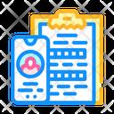 Client Call Client Questionnaire Icon