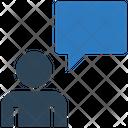Client Chatting Client Message Chat Bubble Icon