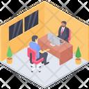 Client Consultant Client Department Client Advisor Icon