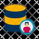Client Database Storage Database Icon
