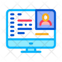 Computer Screen Workplace Icon