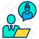 Discussion Client Communicationtalking Icon
