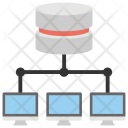 Client Server Internet Icon