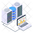 Laptop Storage System Server Client Server Icon