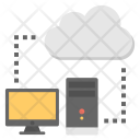 Client Server Connection Icon