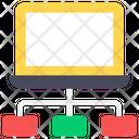 Client Server Hosting Icon
