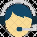 Client Support Customer Representative Customer Support Icon