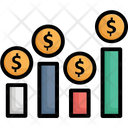 Client Worth Customer Profitability Profit Graph Icon