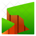 Cliff Nature View Icon