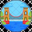 Clifton Suspension Bridge Clifton Bridge Footbridge Icon