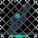Climb Clamber Up Upswing Icon