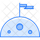 Planet Flag Space Icon