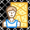 Climbing Sport Color Icon