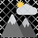 Climb Landscape Hills Icon
