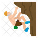 Climbing Sports Competition Icon