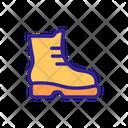 Alpinism Shoe Tourist Icon