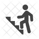 Climbing Stairs Icon
