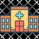 Clinic Building Apothecary Icon
