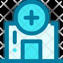 Clinic Health Hospital Icon