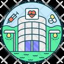 Clinic Pharmacy Hospital Icon