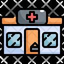 Clinic Shop Pharmacy Icon