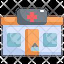 Clinic Pharmacy Shop Icon