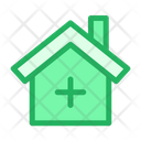 Hospital Doctor House Healthcare Icon