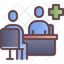Clinic Hospital Doctor Icon