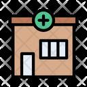 Clinic Pharmacy Healthcare Icon