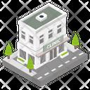 Building Architecture Clinic Icon