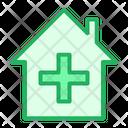 Hospital Health Clinic Health Care Icon
