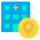 Location Pointer Clinic Pointer Icon