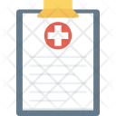 Clinical Medical Record Icon