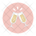 Clink Clink Glasses Drink Icon