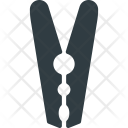 Clip Cloth Hanger Icon