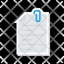 Clip Files Attach Icon