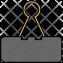 Paper Holder Clip Icon