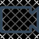 Clip Facetime Video Icon