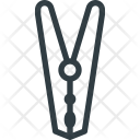 Clip Cloth Hanger Icon
