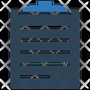 Clip Board Document File Icon