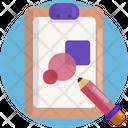 Creative Design Clip Board Color Icon