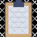 Clip Board Paper Clip Paper Icon