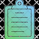 Clip Board Board Report Icon