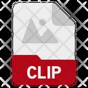 Clip File Format Icon