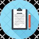 Clipboard Note Pencil Icon