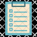 Clipboard Report Icon