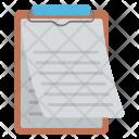 Clipboard Agenda List Icon