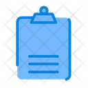 Clipboard Notes Document Icon